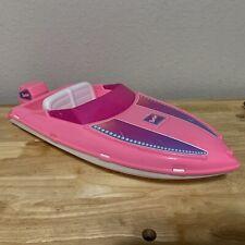 Vintage 1996 Pink Barbie Speed Boat  Water Craft Pearl Beach Barbie