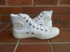 Authentic CONVERSE All White Hi-Top Trainers * sz 6 uk *