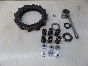 Yamaha YZ465  Clutch Plates Kit Springs bolts  YZ 465 1980 low hours
