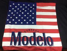 """Modelo Beer American Flag Bandana 21x21"""" Flag Cloth Sign USA"""
