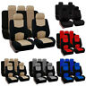 2020 9PCS Universal Protectors Polyester Auto Seat Covers For Car Truck SUV Van