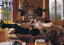 Coupure de presse Clipping 1998 Evelyne Bouix & Pierre Arditi  (4 pages)
