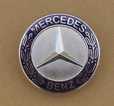 NEW Mercedes Benz Standing Star Conversion to Flat Mount Hood Emblem Badge