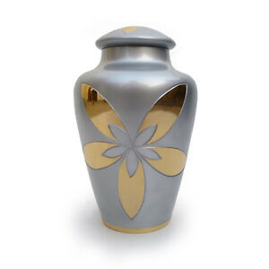 Star Galaxy Adult Urn for Ashes in Gray