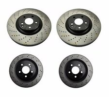 NEW Mercedes W219 CLS55 AMG Set of 2 Front and 2 Rear Disc Brake Rotor Opparts