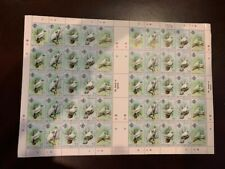 Seychelles 1981 BIRDS COMPLETE SHEET of 50 SG 500/4 MNH