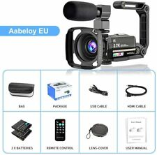 Camcorder, 2.7K Video Camera 36MP UHD IR Night Vision Digital Action Camcorder