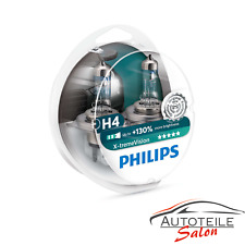 Philips X-tremeVision H4 bis zu 130% mehr Licht Halogenlampe 12342XV+ Duo 2 Stk.