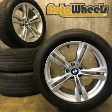 """4 19"""" Genuine BMW X5 alloy wheels complete with Good Year RFT tyres M sport"""
