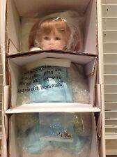 "DECEMBER ZIRCON Diamond Doll Designs Beverly Stoehr 14"" Porcelain Birthstone LE"