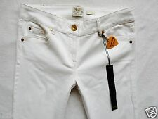 River Island Ladies Jeans Size 14 R sexy wide leg flare  white  34/33 NEW