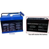 Peg Perego Replacement Battery #IAKB0014 12 Volt 7Ah 8Ah Slim - Polaris Outlaw