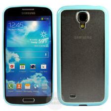 Fundas y carcasas bumper de color principal azul de plástico para teléfonos móviles y PDAs