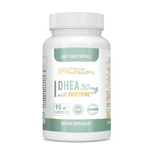 DHEA 50mg Supplement 90 Capsules (Dehydroepiandrosterone) for Hormone Balance