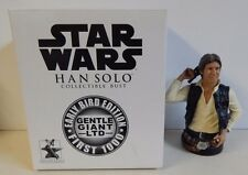 Gentle Giant Star Wars Bust Han Solo Early Bird Edition!!! 556/8000