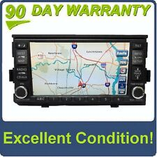 Nissan BOSE Radio Navigation GPS System Touch Screen LCD Display SAT AUX Stereo