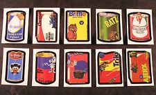 "2007 Topps Wacky Packages ANS6 Series 6 ""MAKE-YOUR-OWN"" COMPLETE SET of 10 nm+"