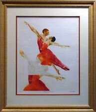 G.H Rothe Ballet Picture II Original Mezzotint Etching H.Signed OFFERS WELCOME