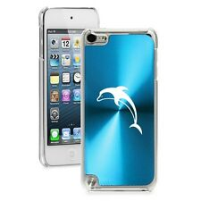 Light Blue Apple iPod Touch 5th 6th Generation Hard Case Cover Dolphin
