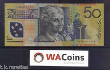 1995 Fraser Evans Last 1995 Prefix $50 Polymer note RARE VG95. a VF note CV $725