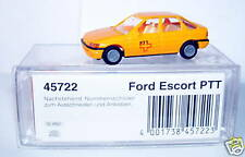 MICRO BUSCH FORD ESCORT POSTES POSTE PTT SUISSE BOX 1/87 HO