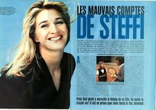 Coupure de presse Clipping 1995 Steffi Graff  (3 pages)