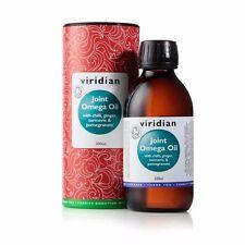 Viridian Joint Oméga Huile avec Spice et Fruit Extrait (95% Organique), 200ml