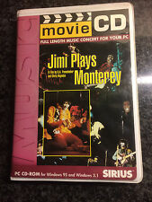 Jimi Hendrix Plays Monterey - Movie 2CD - Sirius - COLLECTORSITEM!