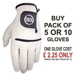 SG Men All Weather Golf Gloves Cabretta Leather palm patch & thumb Amazing value