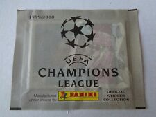 RARA BUSTINA PACKET PANINI UEFA CHAMPIONS LEAGUE 1999/2000 SIGILLATA/SEALED