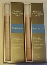 (2 pack) Neutrogena Makeup Correcting Stick 0.10 Oz Make Up Smudges
