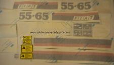 Serie Decalcomania-Adesivi Per Trattore Fiat 55-65..