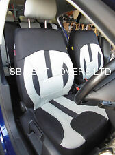 PEUGEOT 307 / 308 CAR SEAT COVERS ROSSINI GREY ELEGANCE  0213