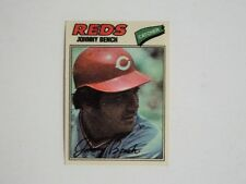 1977 Topps Cloth #3 Johnny Bench Reds NRMINT FLASH SALE