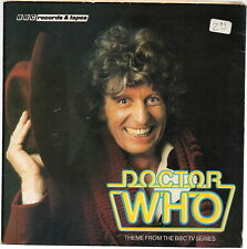 DOCTOR WHO Theme/ The Astronauts 45 RPM BBC 1980 4th Doctor