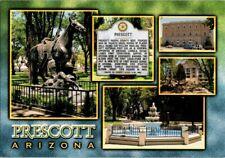 Vintage Prescott Arizona Postcard