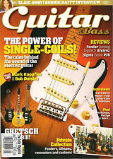 GUITAR & Bass Magazine May 2012 Bonnie Raitt Steve Morse Play Like Mark Knopfler