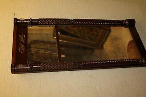 Antique Federal Style Mahogany Mirror