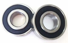 Two Brand New 6001RS 12X28X8mm Bearings For Gas/Electric Scooters Pocket Bikes