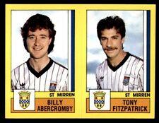 Panini Football 87 (UK) Abercromby/Fitzpatrick St Mirren No. 562