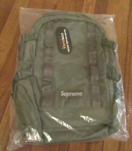 Supreme Backpack Olive FW20 FW20B8 Supreme New York 2020 Brand New Free U.S. S&H