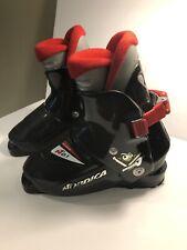 Nordica Super 0.1 Kids Youth Jr's Ski Boots Size 195 or kids size 13/13.5 black