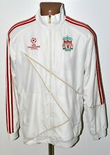 LIVERPOOL 2009/2010 CHAMPIONS LEAGUE TRAINING FOOTBALL JACKET ADIDAS SIZE M