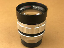 Nikon 55mm F/1.2 Nikkor-O M=1/5 CRT High Resolution Leica M39 Mount Lens - Rare