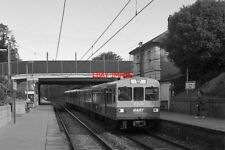 PHOTO  DART TRAIN AT RAHENY SOME TWO YEARS AFTER THE START OF DART ELECTRIC SERV