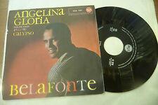 "HARRY BELAFONTE""ANGELINA/GLORIA-disco 45 giri RCA Italy 1961"" calipso"