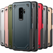 Shockproof Bumper S9 / S9 Plus Case Slim Armor Hard Cover for Samsung Galaxy
