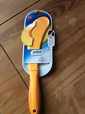 MELON SLICER 4 TOOLS IN 1 ZYLISS CUTTING TOOL REMOVES RIND SEEDS  - YELLOW BNWT