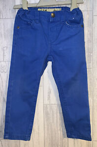 Boys Age 2-3 Years - Blue Slim Fit Jeans