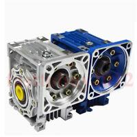Gearbox NMRV30 Turbo-Worm Gear Reducer Ratio 1:5 Square Flange for NEMA23